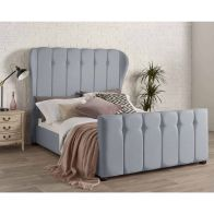 See more information about the Juliette Wing Back Double Bed Blue