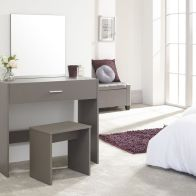 See more information about the Julia Dressing Table Grey 1 Drawer