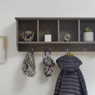 See more information about the Kempton Wall Rack Grey 4 Shelf