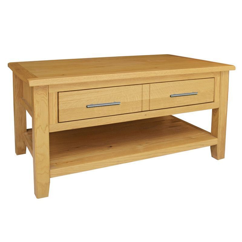 Kansas Oak Coffee Table Buy Online At Qd Stores
