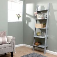 See more information about the Cyprus MDF Ladder Grey 5 Shelf Wall Rack