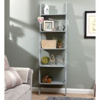 See more information about the Cyprus Wall Shelving Unit Grey 5 Shelf