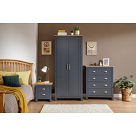 See more information about the Lancaster 3 Piece Bedroom Set Blue