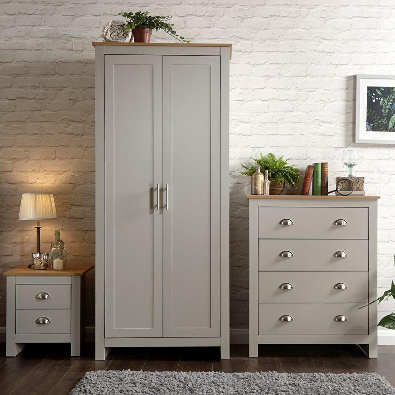 Best Buy Bedroom Furniture: Lancaster 3 Piece Grey Furniture Set