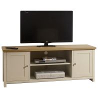See more information about the Lancaster Large TV Cabinet - Cream