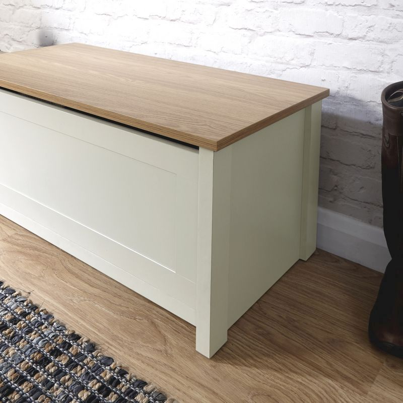 aff240caaf Lancaster Cream Ottoman Storage Box · Click here to enlarge Save