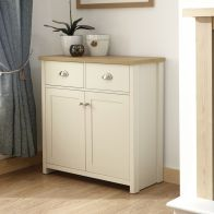 See more information about the Lancaster Compact Sideboard - Cream