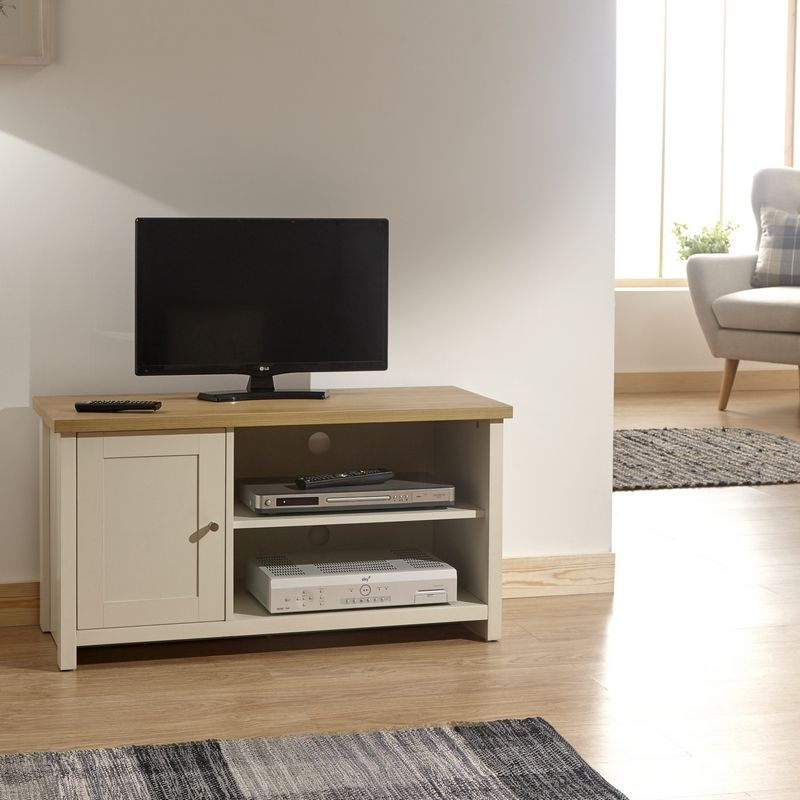 6f7d9446b2 Lancaster Small TV Cabinet - Cream · Click here to enlarge Save