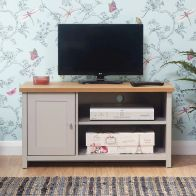 See more information about the Lancaster Grey Small TV Cabinet