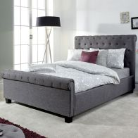 See more information about the Layla End Lift Double Ottoman Bed Grey