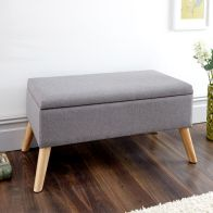 See more information about the Alexandra Storage Ottoman Grey