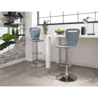 See more information about the Long Island Pair Of Barstools Grey