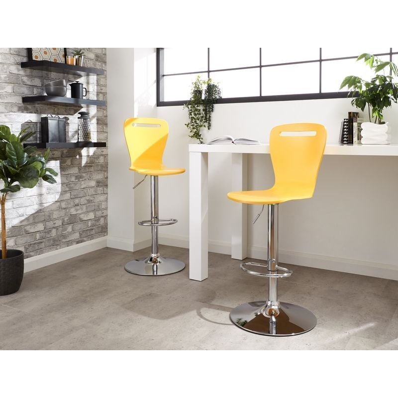 Long Island Pair Of Barstools Yellow