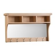 See more information about the Monica Hall Shelf Unit With Mirror