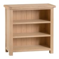 See more information about the Monica Small Bookcase Oak 3 Shelf