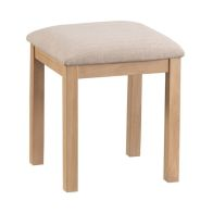 See more information about the Monica Oak Dressing Table Stool