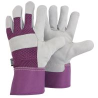 See more information about the Briers Ladies Rigger Gardener Gloves Lavender Medium
