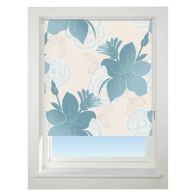 See more information about the Universal 60cm Blue lily Blackout Roller Blind