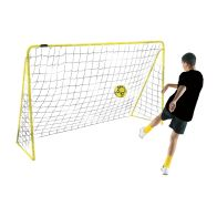 See more information about the Kickmaster Premier 6ft Goal & Netting Yellow Frame