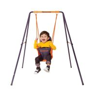 See more information about the Hedstrom Folding Toddler Swing Blue & Orange