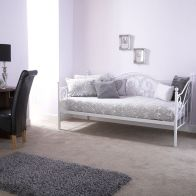 See more information about the Madison Single Day Bed White Metal