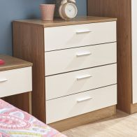 See more information about the Melbourne White Chest Of 4 Drawers