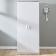 See more information about the Melbourne White 2 Door Wardrobe