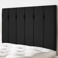 See more information about the Ambleside Weave Fabric Black 6ft Super King Size Bed Headboard