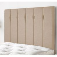 See more information about the Ambleside Weave Fabric Brown 6ft Super King Size Bed Headboard