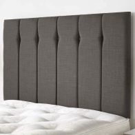 See more information about the Ambleside Weave Fabric Grey 6ft Super King Size Bed Headboard