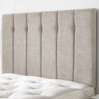 See more information about the Galloway Twill Fabric Natural 6ft Super King Size Bed Headboard