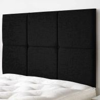 See more information about the Calder Weave Fabric Black 6ft Super King Size Bed Headboard