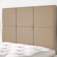 See more information about the Calder Weave Fabric Brown 6ft Super King Size Bed Headboard