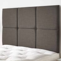 See more information about the Calder Weave Fabric Grey 6ft Super King Size Bed Headboard