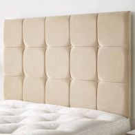 See more information about the Cambrian Linen Fabric Brown 6ft Super King Size Bed Headboard