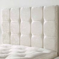 See more information about the Frampton Mirrazi Velvet Pearl 6ft Super King Size Bed Headboard
