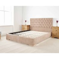 See more information about the Farnley Single Bed Brown
