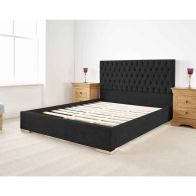 See more information about the Farnley Single Bed Black