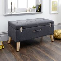 See more information about the Minstrel Storage Ottoman Charcoal