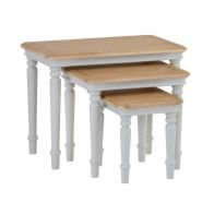 See more information about the Mulbarton Trio Nest of Tables Grey & Oak