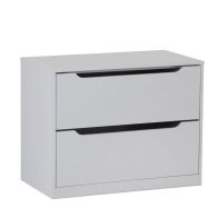 See more information about the Mulbarton Wardrobe Internal Storage Unit Grey 2 Drawer