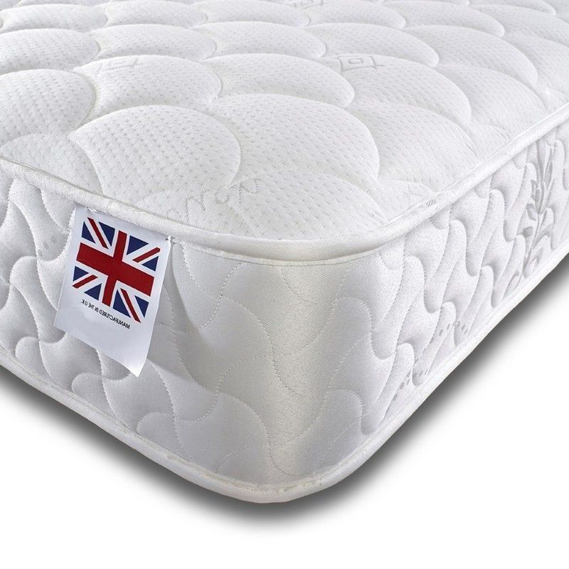 Moon Bonnell Sprung Memory Mattress Small Double Medium