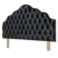 See more information about the Moulin Headboard Black Single