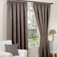 "See more information about the Monaco Curtains (45"" Width x 54"" Drop) - Mink"