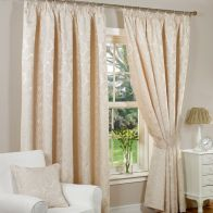 "See more information about the Fusion Monaco Curtains (45"" Width x 54"" Drop) - Natural"