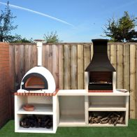 See more information about the Napoli Outdoor Kitchen BBQ and Wood Burning Pizza Oven