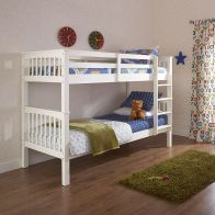 See more information about the Novaro Single Bunk Bed White Pine