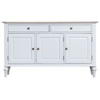 See more information about the Ebenezer Oak 3 Door 2 Drawer Sideboard