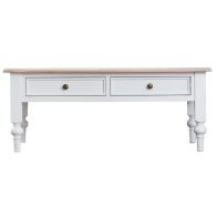 See more information about the Ebenezer Oak 2 Drawer Coffee Table