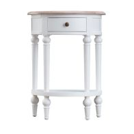 See more information about the Ebenezer Oak 1 Drawer Telephone Table